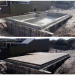 Before and After Concrete Pool Boarding