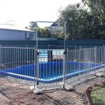 Pool Fully Fenced Pool stage